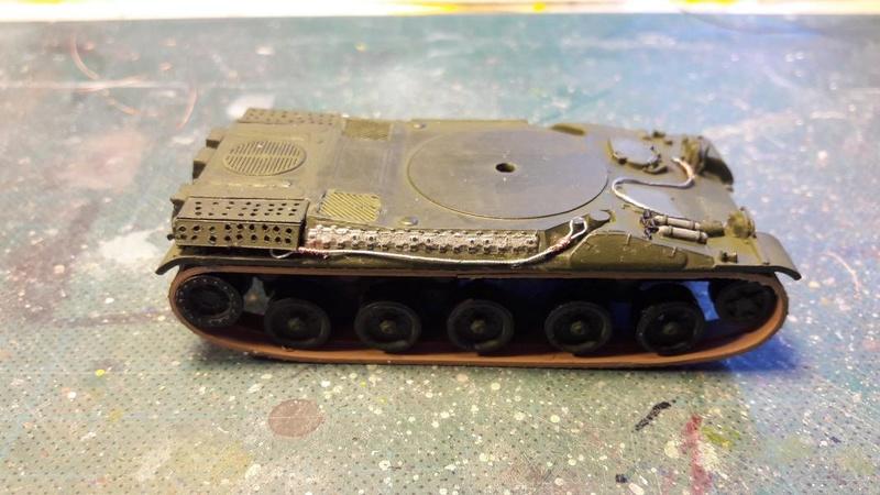 AMX 30B 105mm montage terminé 3717