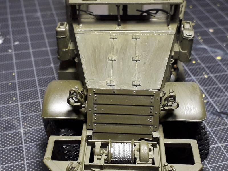 U.S. Multiple Gun Motor Carriage M16 1/35 Tamiya  FINI !!!!!!!! 3821