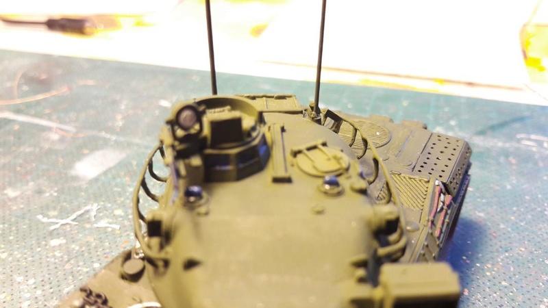 AMX 30B 105mm montage terminé 3914