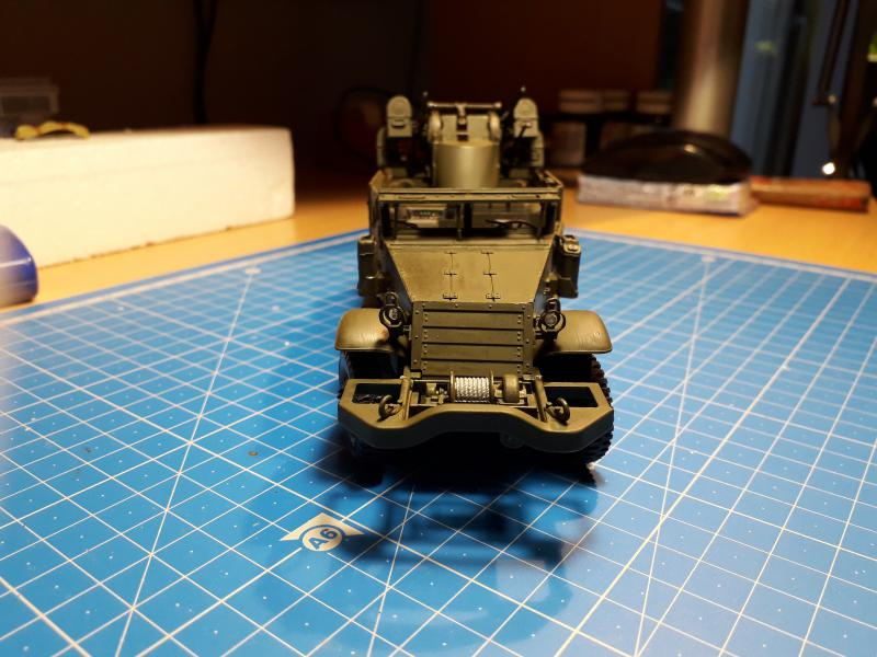 U.S. Multiple Gun Motor Carriage M16 1/35 Tamiya  FINI !!!!!!!! 3919