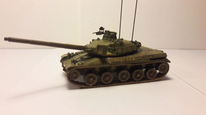 AMX 30B 105mm 4ème cuirassé Bitche1978 4115