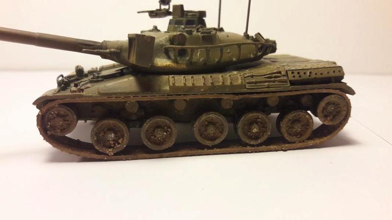 AMX 30B 105mm montage terminé 4214