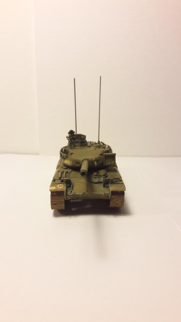 AMX 30B 105mm montage terminé 4314