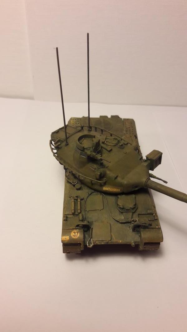 AMX 30B 105mm 4ème cuirassé Bitche1978 4515