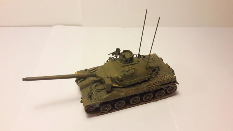 AMX 30B 105mm montage terminé 4914