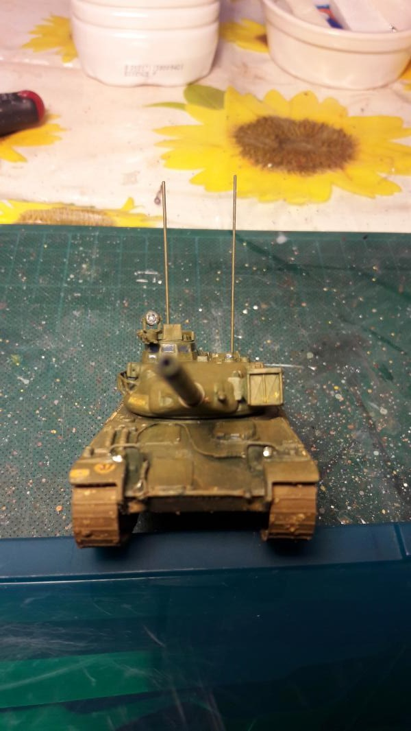 AMX 30B 105mm montage terminé 5013
