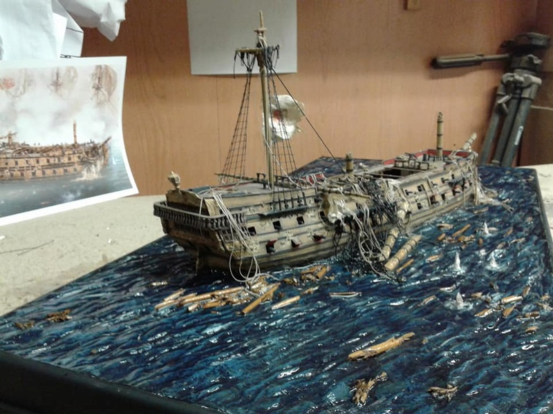 La fin du Glorieux (diorama de Curro Agudo) 510