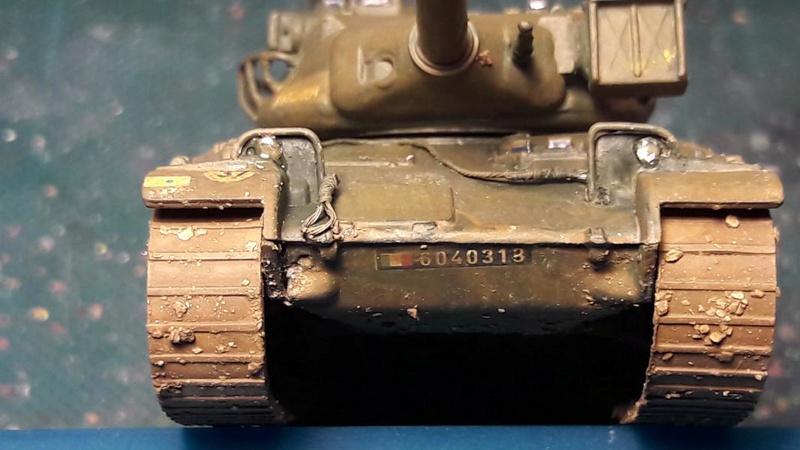 AMX 30B 105mm montage terminé 5211