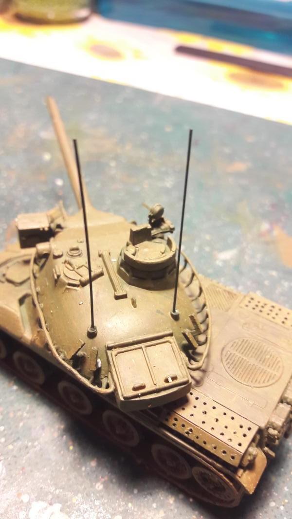 Diorama mise en situation de l'AMX 30 5311