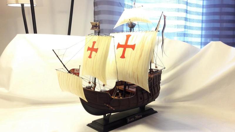 La Santa Maria le bateau est fini !!!!!!! - Page 2 6011