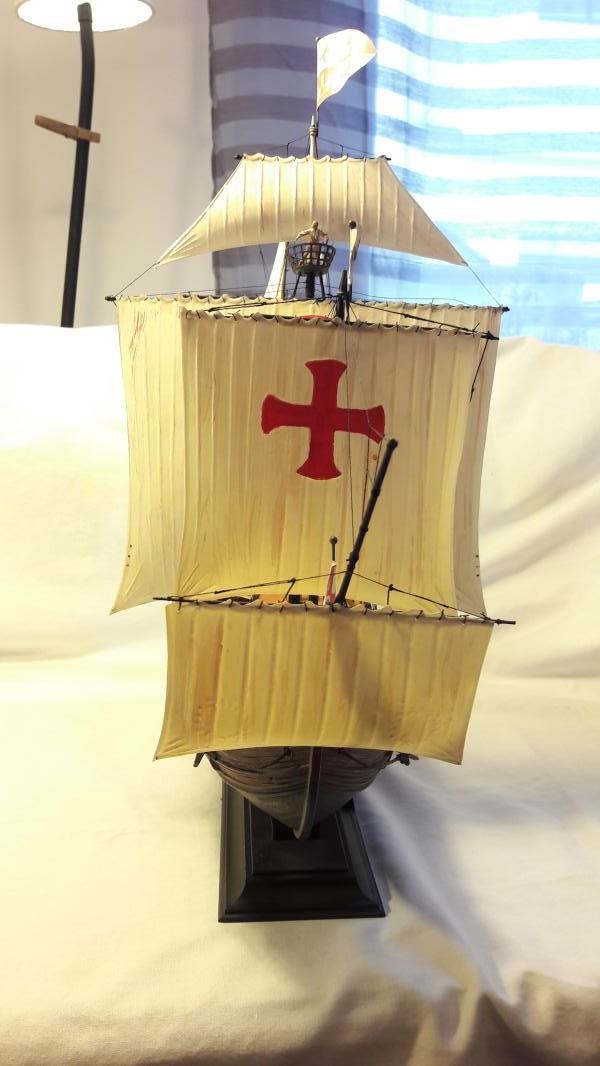 La Santa Maria le bateau est fini !!!!!!! - Page 2 6711