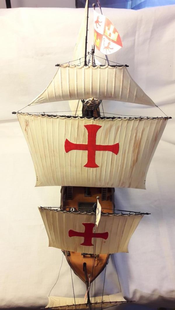 La Santa Maria le bateau est fini !!!!!!! - Page 2 6911