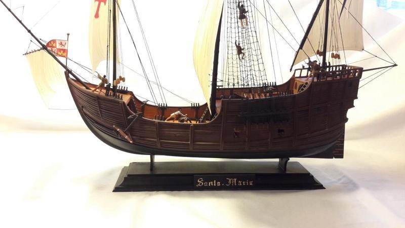 La Santa Maria le bateau est fini !!!!!!! - Page 2 7011