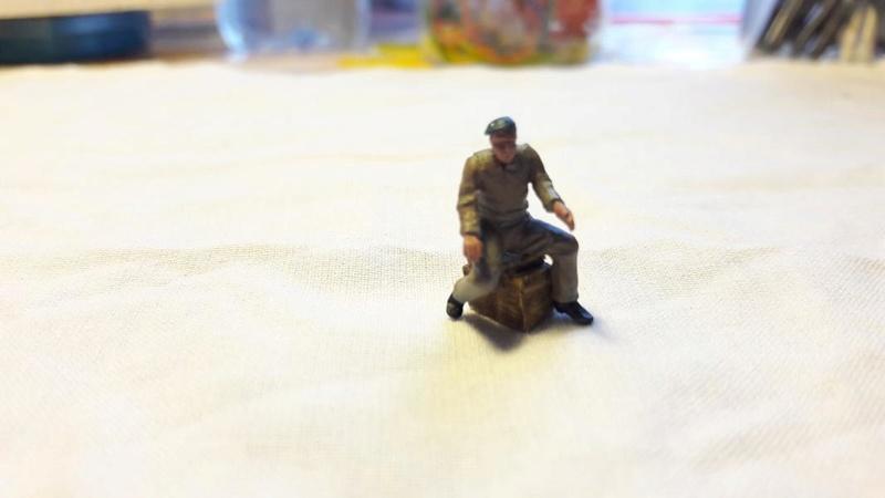 Figurines au 1/72 aviateur et mécanos Fini!!! 721
