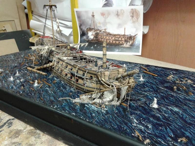 La fin du Glorieux (diorama de Curro Agudo) 810