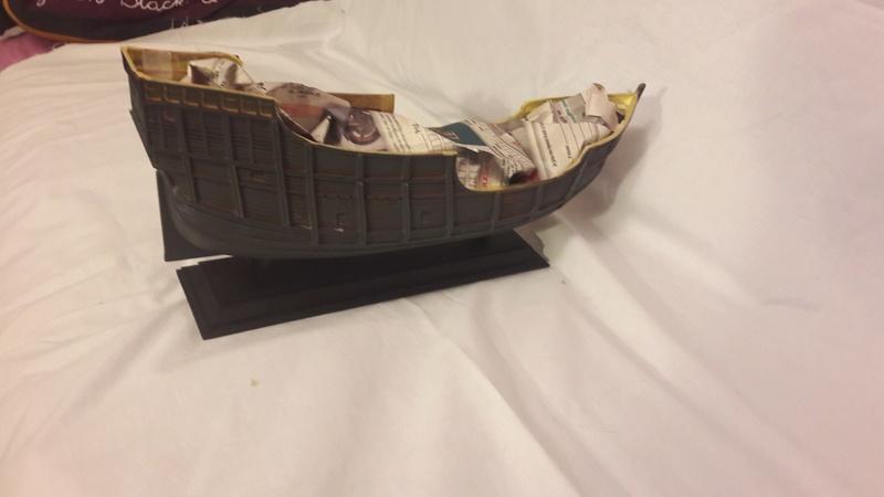 La Santa Maria le bateau est fini !!!!!!! 814