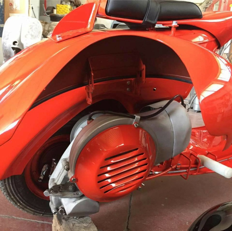 Vespa 98 Corsa de 1947 / Bacchetta 125 de 1948 21077310