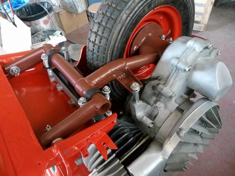 Vespa 98 Corsa de 1947 / Bacchetta 125 de 1948 21151710