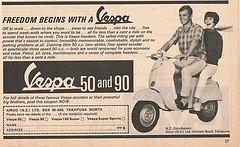 Publicités Vespa 25653811
