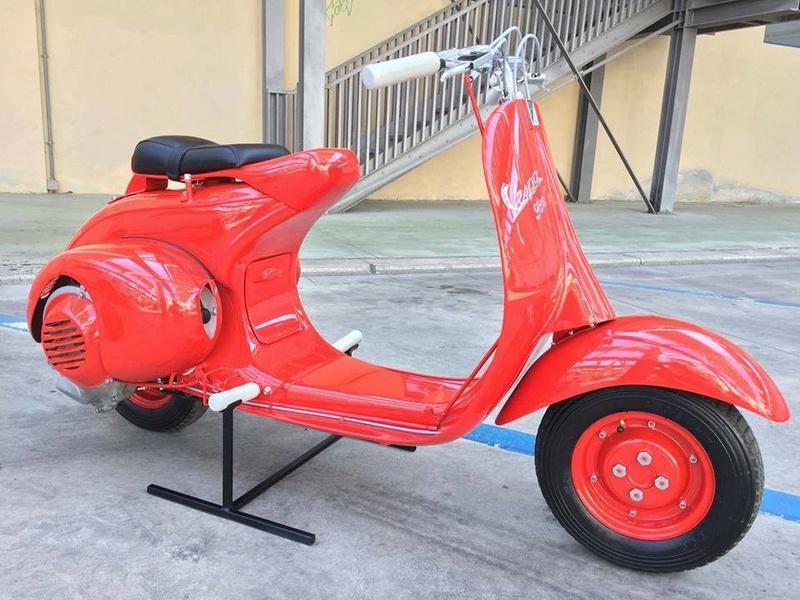 Vespa 98 Corsa de 1947 / Bacchetta 125 de 1948 410