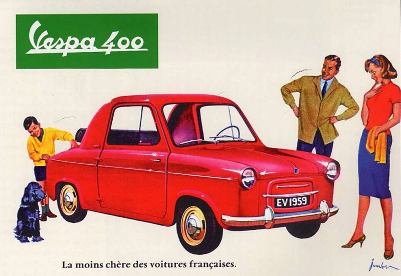 Publicités Vespa Piagg102