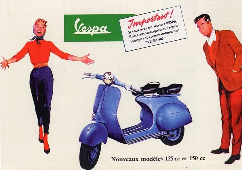 Publicités Vespa Piagg103