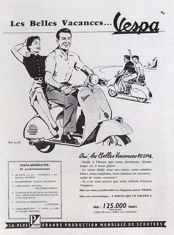 Publicités Vespa Piagg104