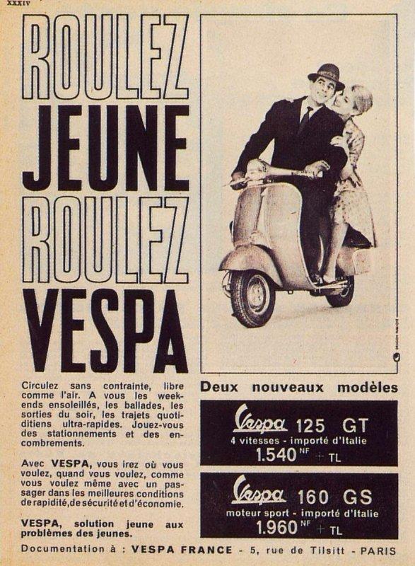 Publicités Vespa Piagg107