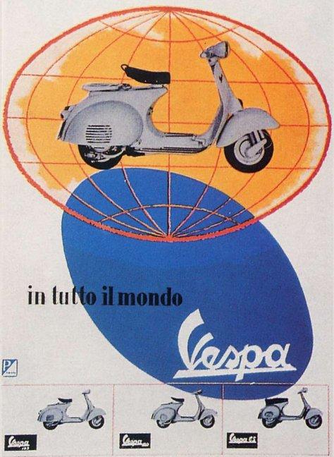 Publicités Vespa Piagg112