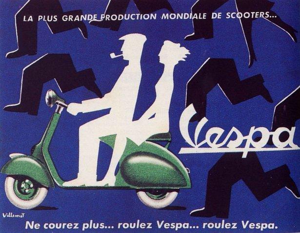 Publicités Vespa Piagg113