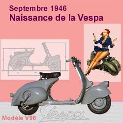 Publicités Vespa Piagg115
