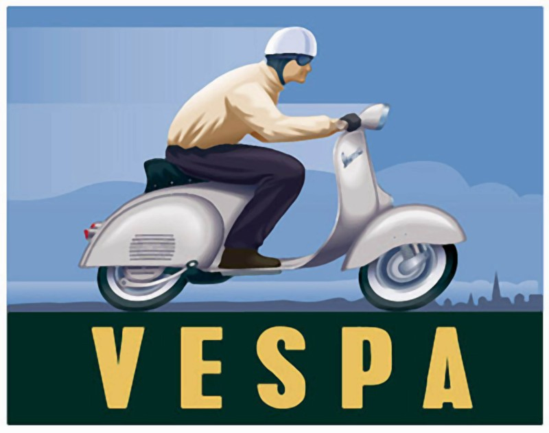 Publicités Vespa Piagg116