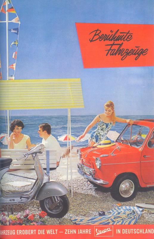 Publicités Vespa Piagg120
