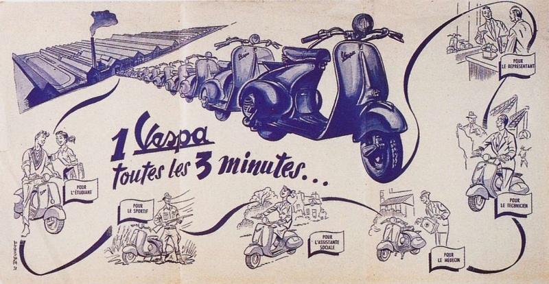 Publicités Vespa Piagg121
