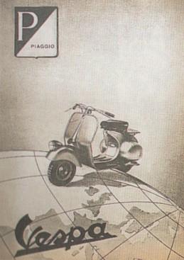 Publicités Vespa Piaggi57