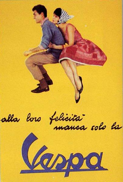 Publicités Vespa Piaggi91