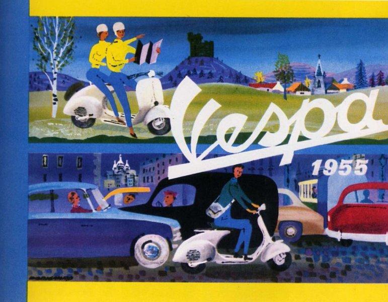 Publicités Vespa Piaggi94