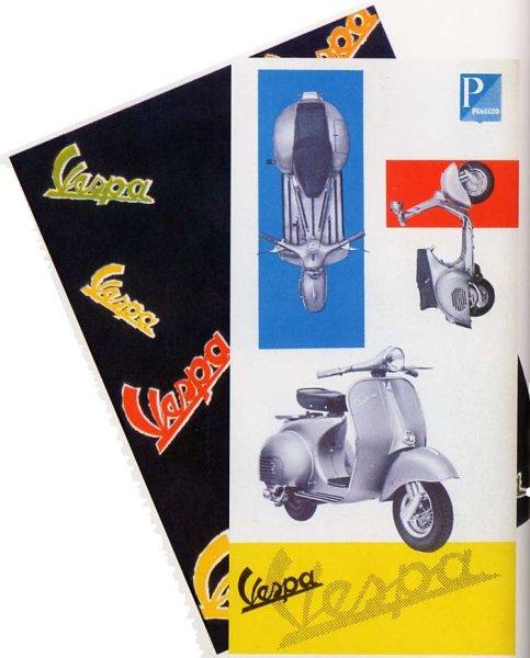 Publicités Vespa Piaggi95