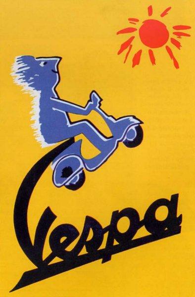 Publicités Vespa Piaggi96