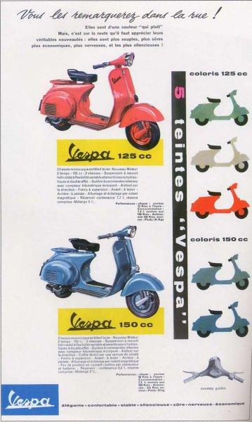Publicités Vespa Piaggi97