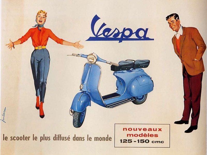 Publicités Vespa Piaggi99