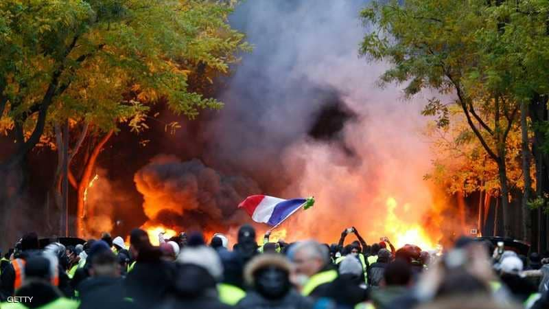scènes de chaos dans Paris 01 décembre 2018 1010