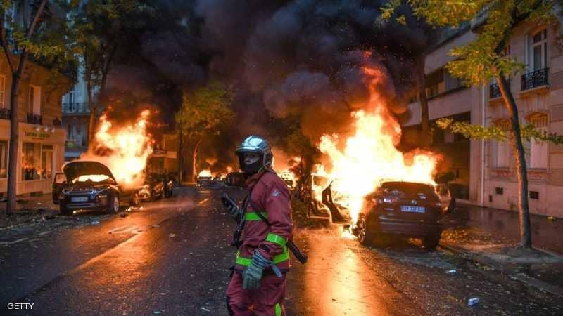 scènes de chaos dans Paris 01 décembre 2018 1011