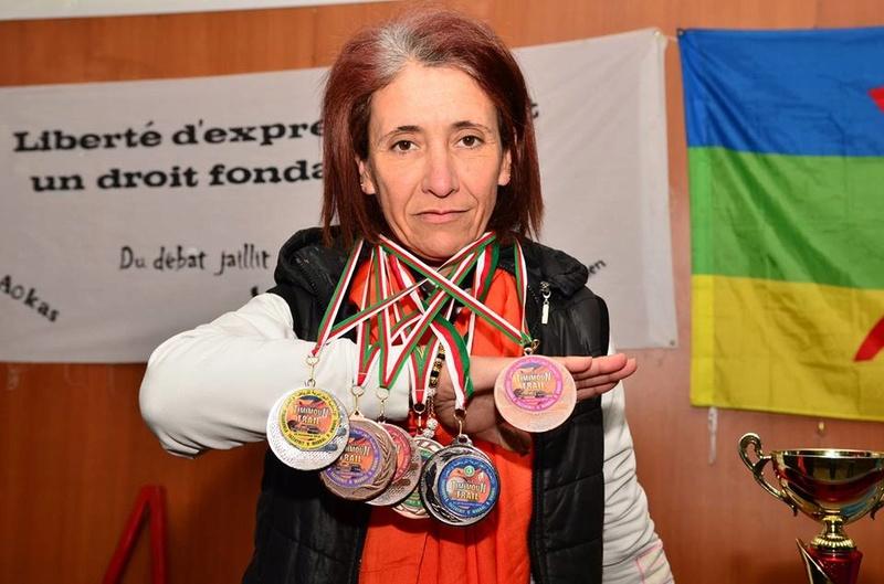Nedjma Abdelli est revenue avec la deuxième place du trail de Timimoun.  1077