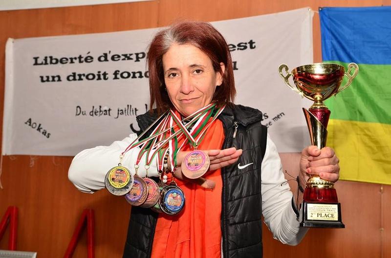 Nedjma Abdelli est revenue avec la deuxième place du trail de Timimoun.  1078