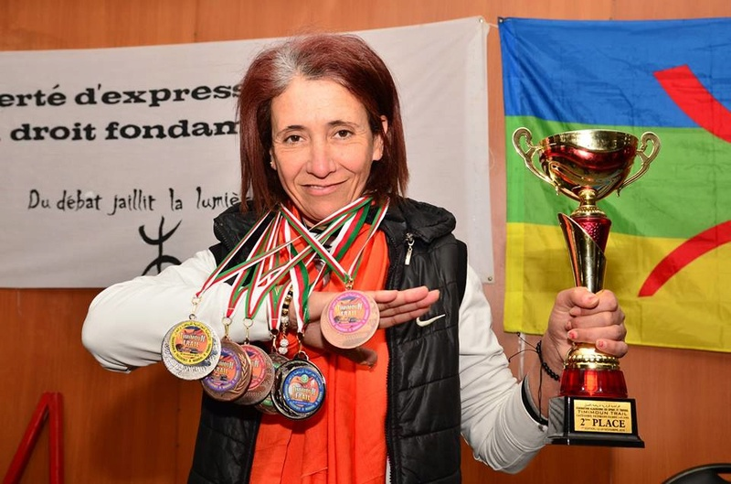 Nedjma Abdelli est revenue avec la deuxième place du trail de Timimoun.  1079