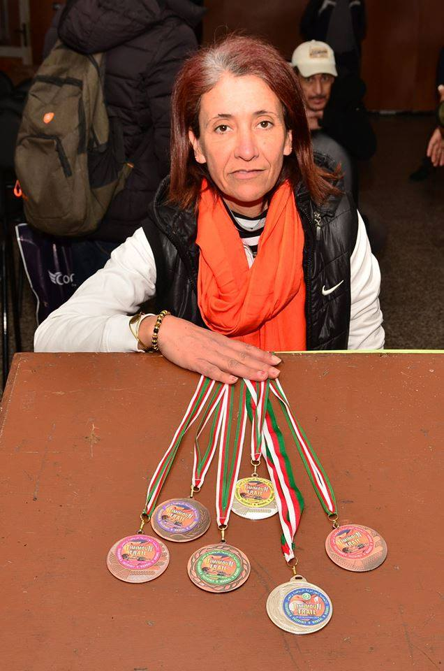Nedjma Abdelli est revenue avec la deuxième place du trail de Timimoun.  1080