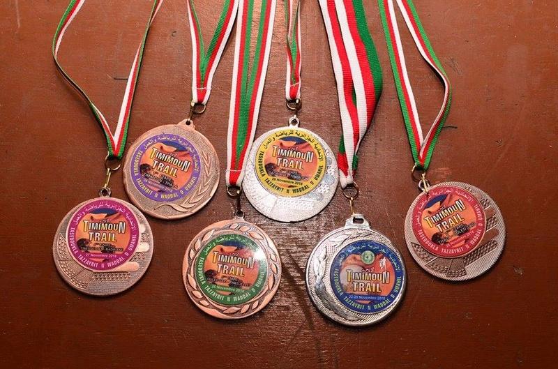 Nedjma Abdelli est revenue avec la deuxième place du trail de Timimoun.  1082
