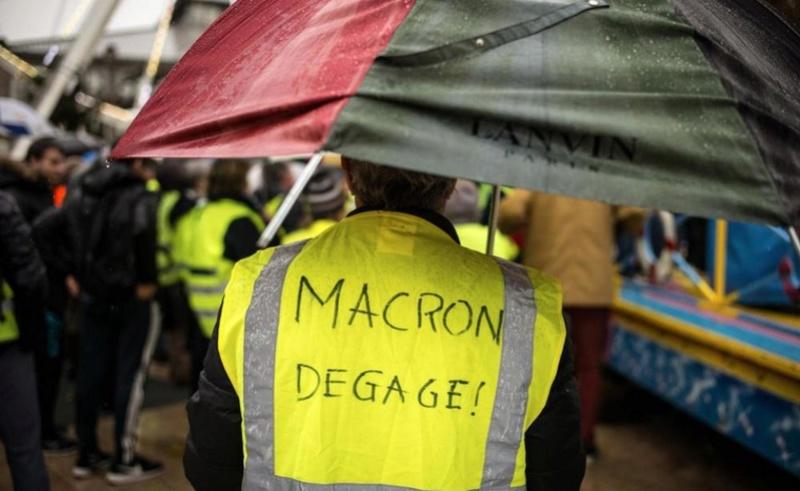 scènes de chaos dans Paris 01 décembre 2018 8210