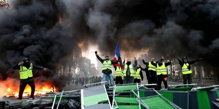 scènes de chaos dans Paris 01 décembre 2018 8410